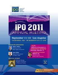 2011 Brochure - Intellectual Property Owners Association