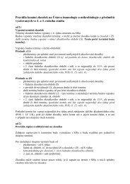 Pravidla konání zkoušek na Ústavu imunologie a mikrobiologie-1