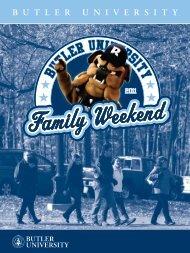 Family Weekend - Butler University