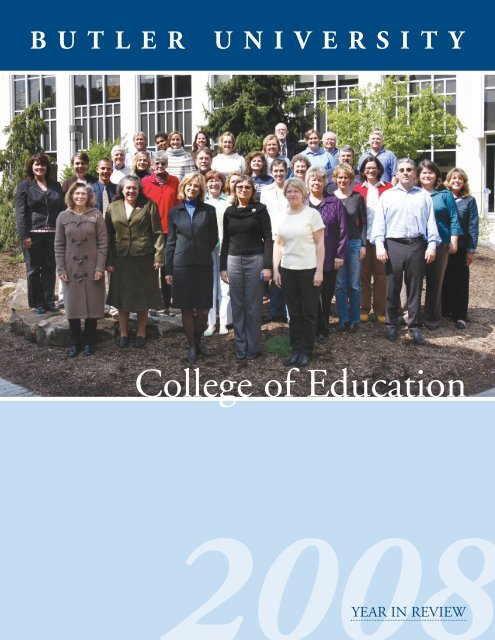 College of Education - Butler University