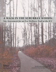 A WALK IN THE SUBURBAN WOODS: - Butler University