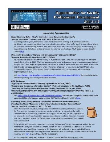 September 24, 2012 - Butler University