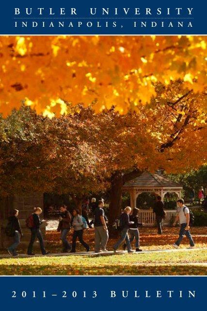 2 0 1 3 bulletin - Butler University