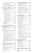 2 0 1 3 bulletin - Butler University - Page 7