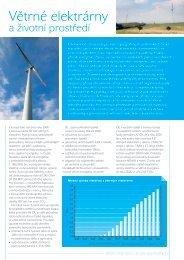 Větrné elektrárny a životní prostředí - Calla