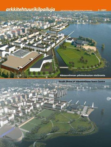 arkkitehtuurikilpailuja - Suomen Arkkitehtiliitto SAFA