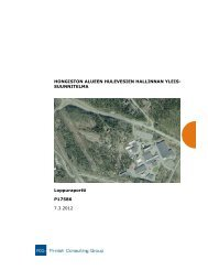 Hulevesien hallinnan yleissuunnitelma - Hämeenlinna
