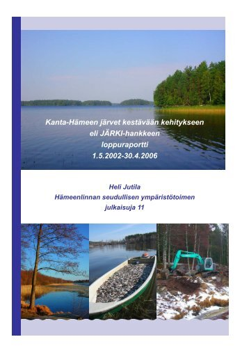 JÄRKI-hankkeen loppuraportti - Hämeenlinna