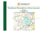 Tuuloksen Pannujärven tila ja haasteet (pdf) - Hämeenlinna
