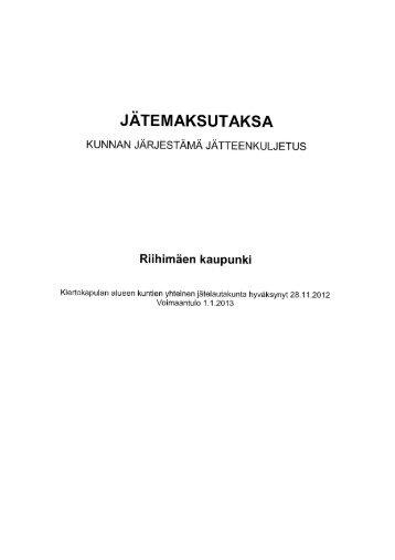 Riihimäki - Hämeenlinna