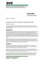 Circulaire 03/2008 Aux assureurs-maladie