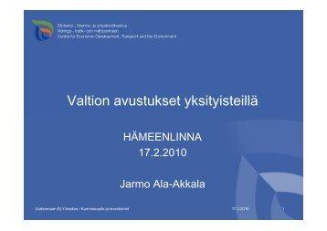 tiekunta - Hämeenlinna