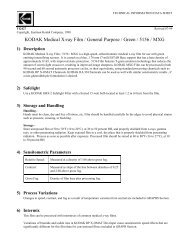 KODAK Medical X-ray Film / General Purpose / Green ... - Taldent