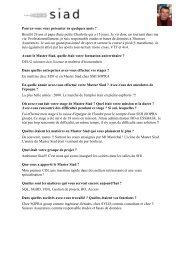 Didier SPERLACKEN Promotion 2000 - Université Lille 1
