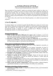 Lettre de cadrage de la démarche de ... - Université Lille 1