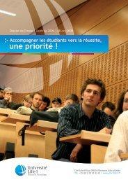Téléchargez le communiqué - Université Lille 1