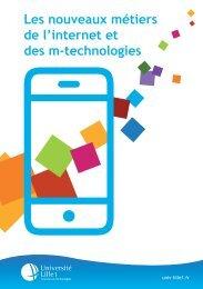 Les nouveaux métiers de l'internet et des m ... - Université Lille 1