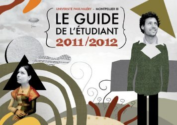 Le guide de l'étudiant 2011-2012 - Université Paul Valéry