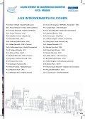 COURS INTENSIF DE CANCÉROLOGIE DIGESTIVE - Page 3
