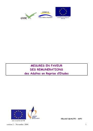 AREF - Université de Valenciennes et du Hainaut-Cambrésis
