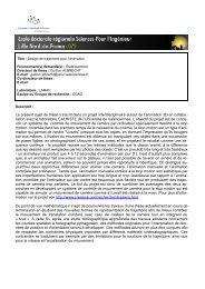 Laboratoire d'Automatique et d'Informatique Industrielle de Lille