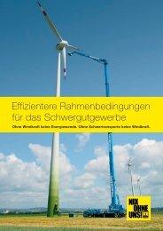 Effizientere Rahmenbedingungen für das Schwergutgewerbe - BSK