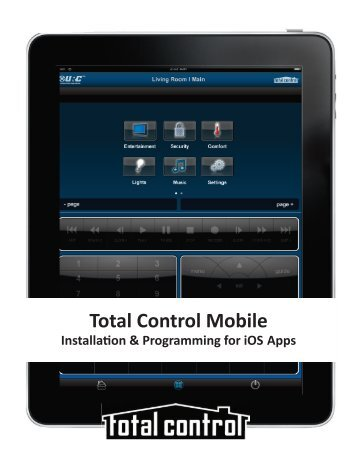 Installation & Programming for iOS Apps - Universal Remote Control