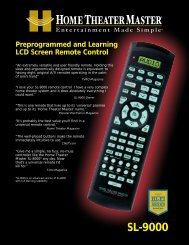UR3-SR3M-CHD Programming Instructions and Codes - Universal