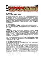 Conclusiones finales - Sistema de Bibliotecas de la Universidad de la