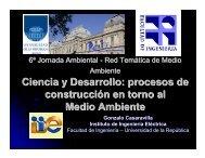 Ciencia y Desarrollo: procesos de construcción en torno al Medio ...