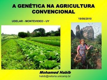 A GENÉTICA NA AGRICULTURA CONVENCIONAL - Sistema de ...