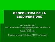 GEOPOLITICA DE LA BIODIVERSIDAD - Sistema de Bibliotecas de ...