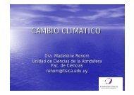 CAMBIO CLIMATICO - Sistema de Bibliotecas de la Universidad de la