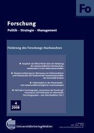 Heft 4 / 2008 - UniversitätsVerlagWebler