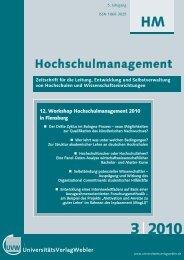 Heft 3 / 2010 - UniversitätsVerlagWebler