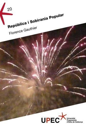 República i Sobirania Popular - Universitat Progressista d'Estiu de ...