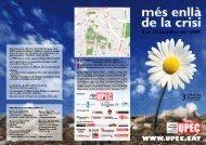 Programa UPEC 2009 - Universitat Progressista d'Estiu de Catalunya