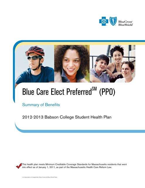 Blue Care Elect Preferred (PPO) - Babson College