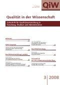 QiW - UniversitätsVerlagWebler - Page 3