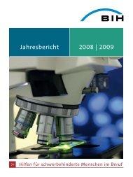 Jahresbericht 2008 | 2009 - Universum Verlag