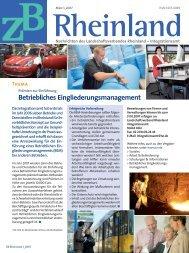 Betriebliches Eingliederungsmanagement - Universum Verlag