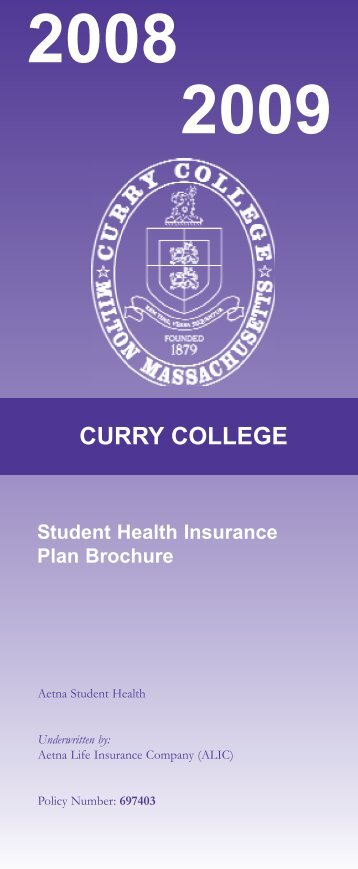 curry college - University Health Plans