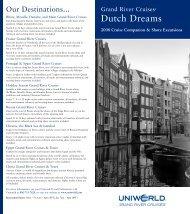 Dutch Dreams - Uniworld