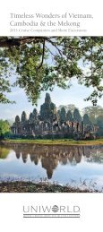 Vietnam, Cambodia & the Mekong - Uniworld River Cruises