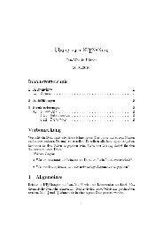 Übung zum LATEX-Kurs - Unix-AG-Wiki