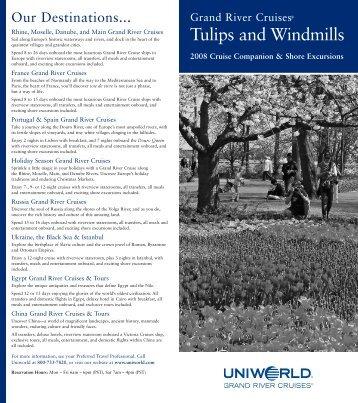 Tulips and Windmills - Uniworld