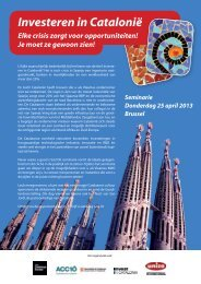 Investeren in Catalonië - UNIZO.be