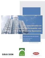 De Specialisatie en Sectorale Performantie van de ... - UNIZO.be