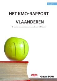 Bekijk hier het integrale KMO-rapport 2011 - UNIZO.be