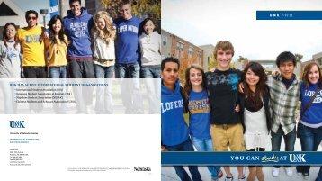 you can at - The University of Nebraska Kearney